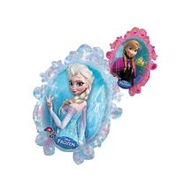 "1 X Disney Frozen Double Sided Mirror 25"" Balloon"