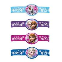 Disney Frozen Silicone Wristband Party Favors, 4ct