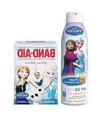 """Disney Frozen """"Safety First"""" Pure Sun Defense Sunscreen"""