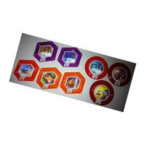 DISNEY INFINITY - COMPLETE SET OF 8 EXCLUSIVE TOYS R US