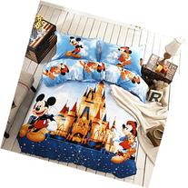 Disney Mickey and Minnie Mouse Bedding Set