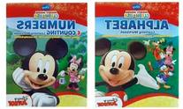 Disney Junior Mickey Mouse Clubhouse Learning Workbooks