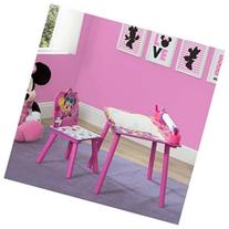 Disney Minnie Mouse Art Desk with Paper Roll