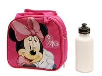 1 X Disney Minnie Mouse Lunch Box Bag with Shoulder Strap