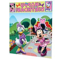 Disney Minnie Mouse Scene Setter Decoration Set Party