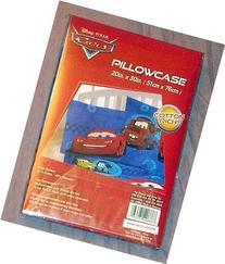 "DISNEY PIXAR CARS PILLOWCASE~MCQUEEN AND MATER~SIZE 20"" x 30"
