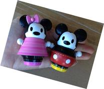 Disney Pook.a.Looz Mickey & Minnie Mouse Spinners