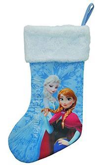 "Disney Frozen Princess Anna & Elsa 18"" Christmas Stocking"