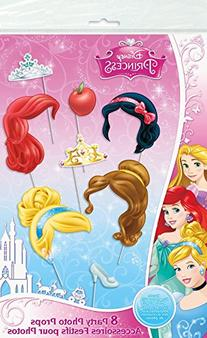 Disney Princess Photo Booth Props, 8pc