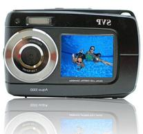 "SVP 2.7"" Display Black Aqua5500 Underwater Camera"