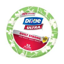 Dixie Ultra Disposable Plates, 8 1/2 Inch, 32 Count