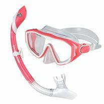 U.S. Divers Diva 1 Lx / Island Dry Adult Silicone Mask Combo