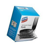 "Dixie FM5W540 Wrapped Medium Weight Polystyrene Forks, 6.1"""