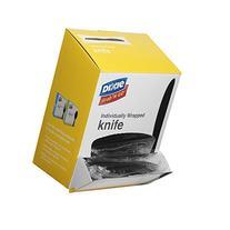 "Dixie KM5W540 Wrapped Medium Weight Polystyrene Knives, 7"""
