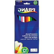 Prang Thick Core Colored Pencils, 3.3 Millimeter Cores, 7
