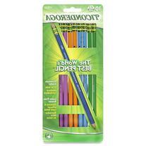 Dixon Ticonderoga Wood-Cased #2 Pencils, Black Lead, Box of
