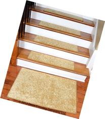 "Dean DIY 30"" x 9"" Premium Carpet Stair Treads and 2' x 3'"
