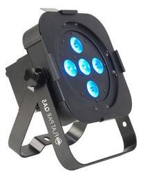 American DJ Flat Par QA5X Quad Colored LED Wash Can metal