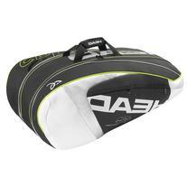 Djokovic 9R Supercombi Tennis Bag Black and White