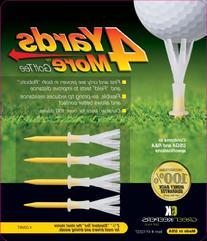 ProActive Sport DLT200 2 3/4 4 Yards More Golf Tee