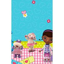 Doc McStuffins Plastic Table Cover, 54 in x 96 in, Party