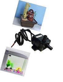 docooler Ultra-quiet Mini DC12V Micro Brushless Water Oil
