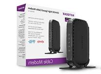 NETGEAR DOCSIS 3.0 340Mbps Cable Modem for XFINITY, Time