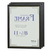 "Document Frame, Easy Slide -In Feature, 8-1/2""""x11"""", Black"