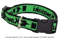 Kawasaki Dog Collar - Size Large