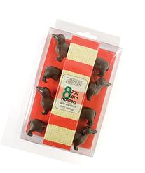Charcoal Companion Dog Corn Holders  - Perfect Gift For