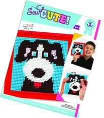 Colorbok Dog Learn To Sew Needlepoint Kit, 6-Inch by 6-Inch