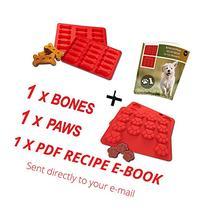 Laminas Dog Paws & Bones Silicone Baking Molds + RECIPE
