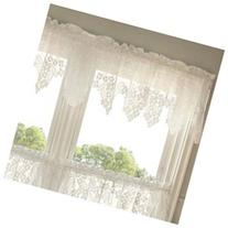 Dogwood 55 Curtain Valance, Ecru