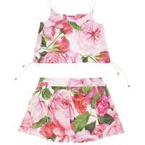 Dolce & Gabbana Cotton top and shorts