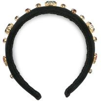 Dolce & Gabbana - crystal-embellished headband - women -
