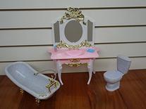 Barbie Doll Size Gloria Bathroom Play Set