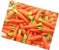 Dollhouse Miniatures Food Lot 10 Carrots Vegetable LA1G 4127