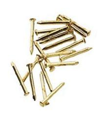 Dollhouse Miniature Brass Pointed Pin Nails 6mm by Houseworks