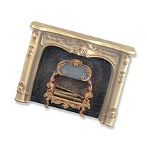 Dollhouse Miniature Fireplace in Cream by Reutter Porcelain