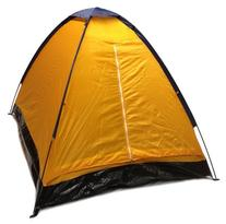 Orange Dome Camping Tent 7x5' - 2 Person, Two Man Blue