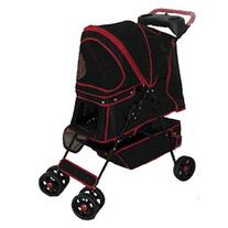 Domestic Pet Feeders Red Walkie Pet Stroller Fascinating
