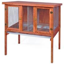 Domestic Pet Heavy Duty Double Rabbit Hutch Partner