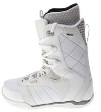 Ride Donna Snowboard Boots White Womens Sz 7