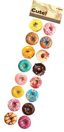 """""""Cute!"""" Donut Stickers"""