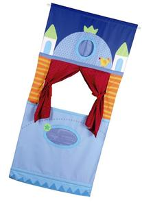 HABA Doorway Puppet Theater - Adjustable Rod fits in Most