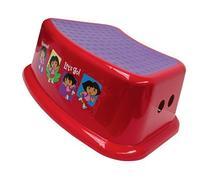 Nickelodeon Dora the Explorer Step Stool - Red