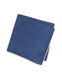 Men's Lanvin Dot Silk Pocket Square, Size One Size - Blue