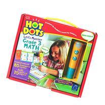 Educational Insights Hot Dots Let's Master Grade 3 Math Set