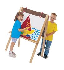 Double Adjustable Easel - School & Play Furniture