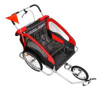 Confidence 2-in1 Double Baby/Child Bike Trailer / Jogger /